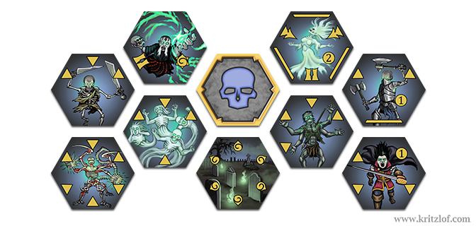 Battle of the Meteor – Undead Art Update