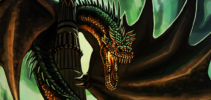 Tower Dragon  – WIP