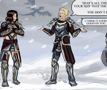 Guild wars – Vigil armor