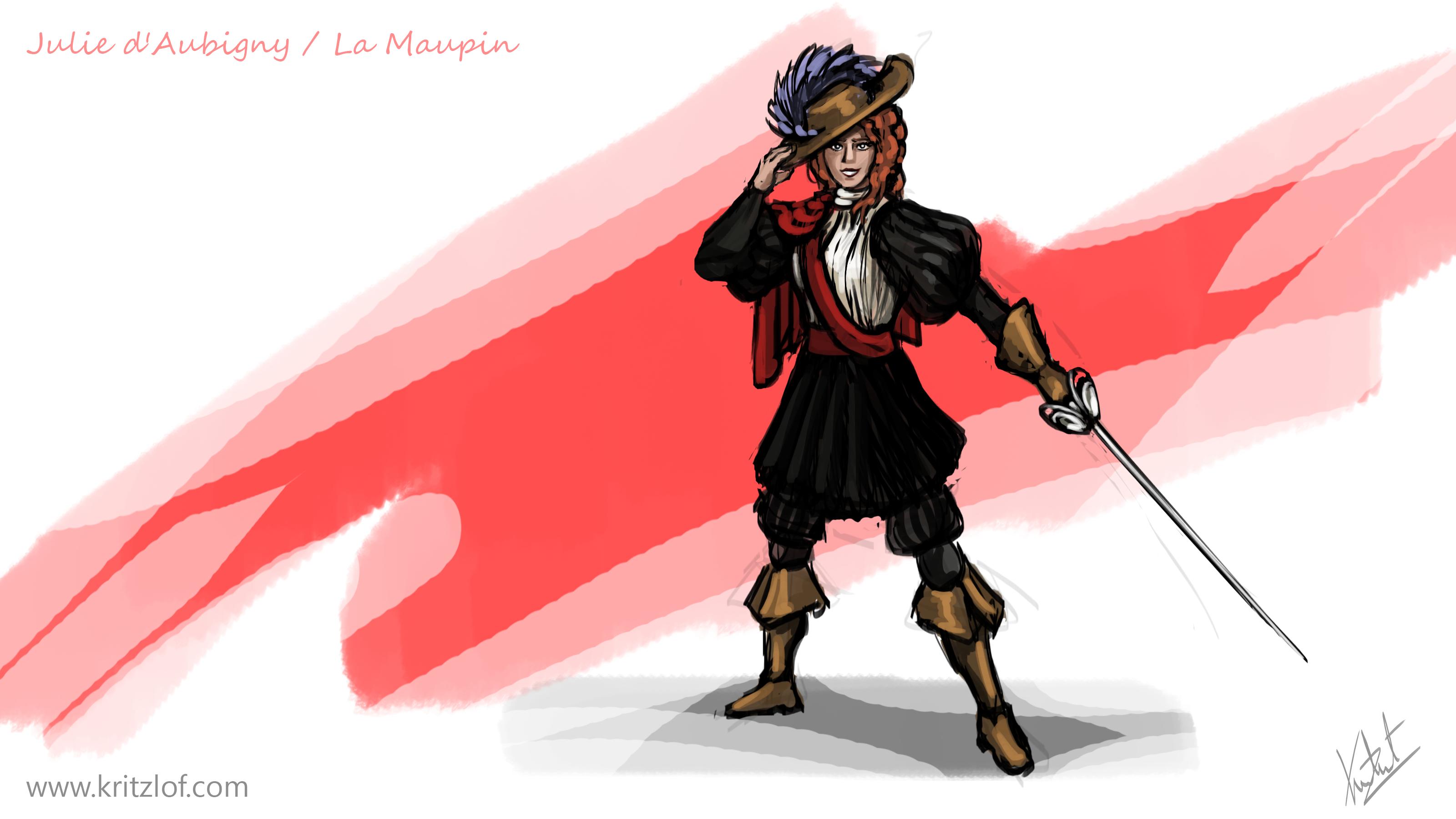 DP#233 - Julie d'Aubigny - La Maupin